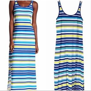 Tommy Bahama Striped Tank Maxi Dress Sz S/P